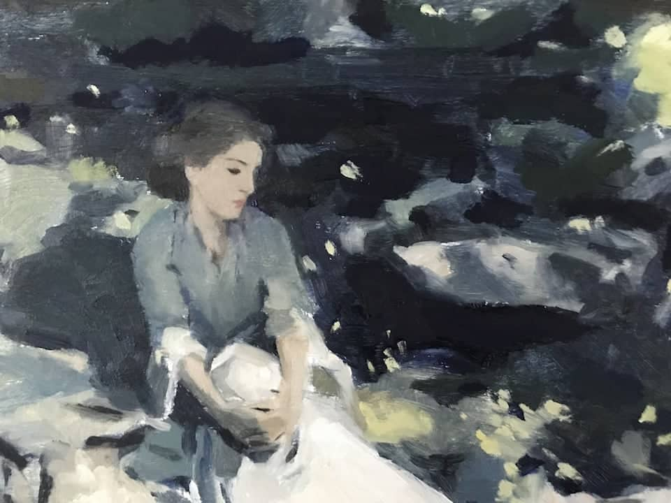 study of The Black Brook (Sargent)